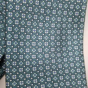 Jos. A. Bank Accessories - Jos A Bank Teal Green Blue Soft Italian Silk Tie